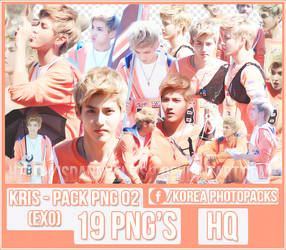 Kris (EXO) - PACK PNG #02 by JeffvinyTwilight