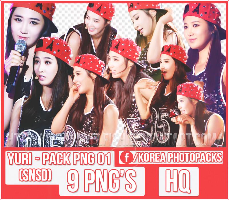 Yuri (SNSD) - PACK PNG #01 by JeffvinyTwilight