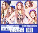 Jiyeon (T-ARA) - PACK PNG#01