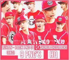 Luhan (EXO) - PACK PNG#01 by JeffvinyTwilight