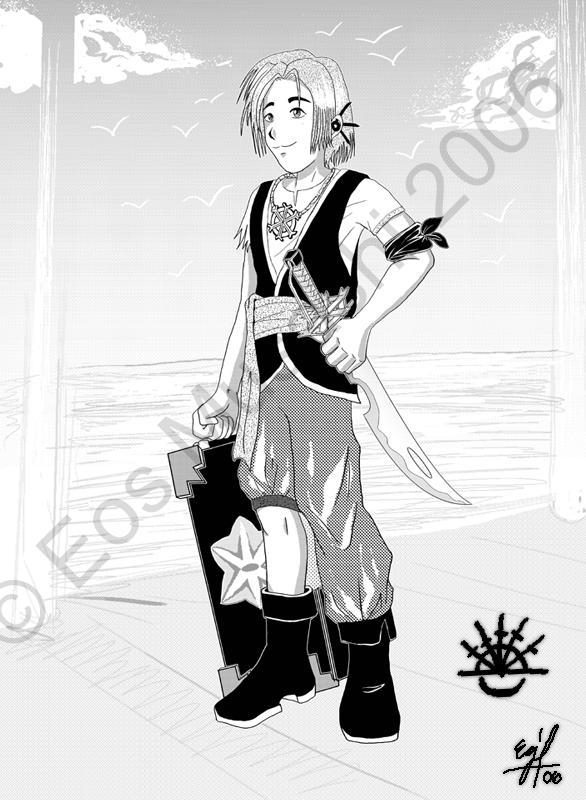 Sparda characters: Wesley by eosmusashi