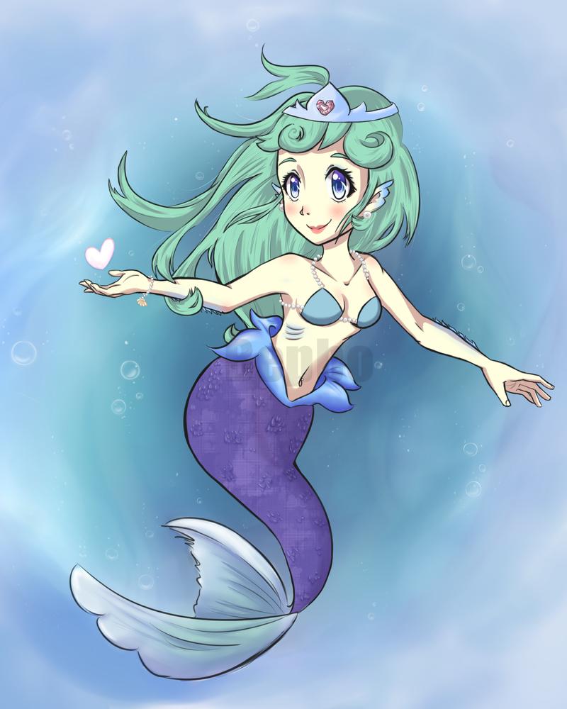 Aquatic Maiden by Bepbo