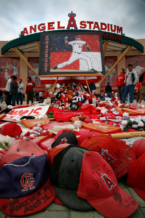 Nick Adenhart, Rest In Peace by JennyLynnPhotography