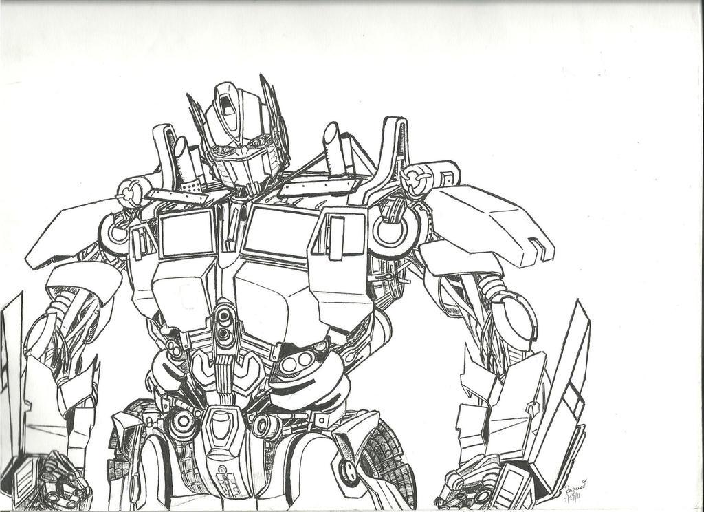 Optimus Prime By Roman94 On DeviantArt