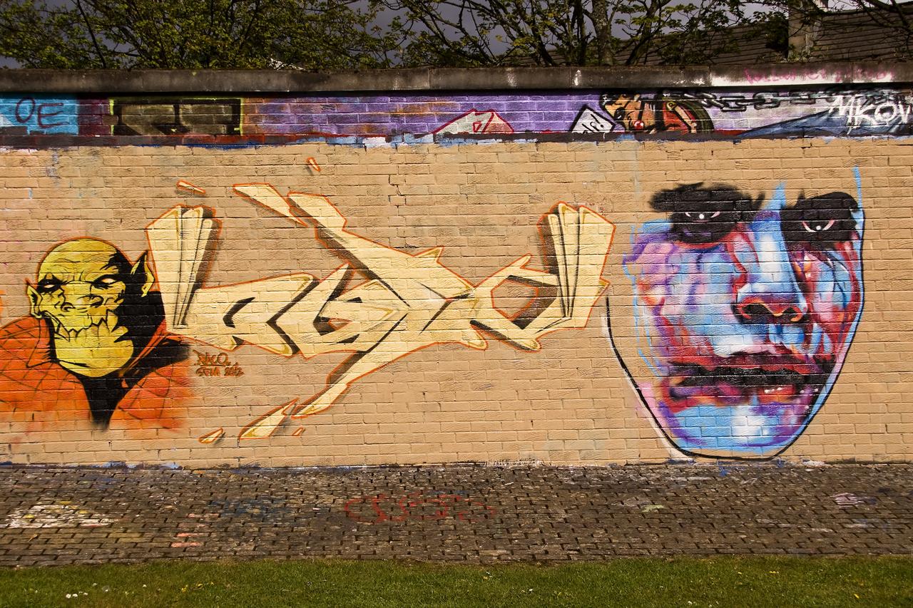 Graffiti Horror by DundeePhotographics