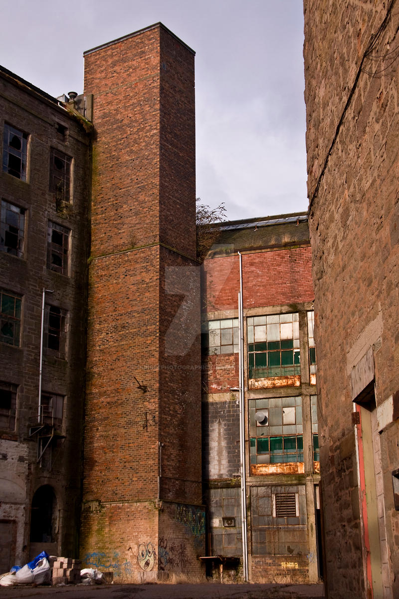 Derelict I by DundeePhotographics