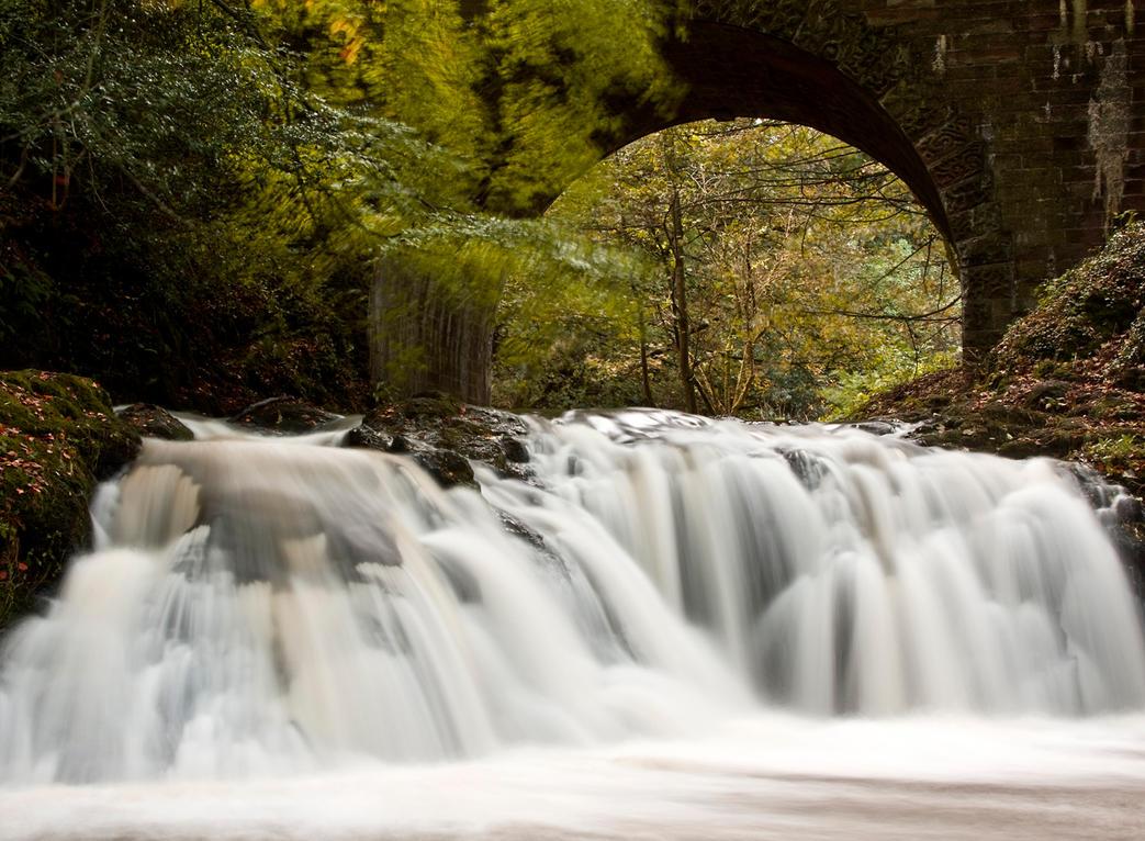 Aberelliot Waterfall XI by DundeePhotographics