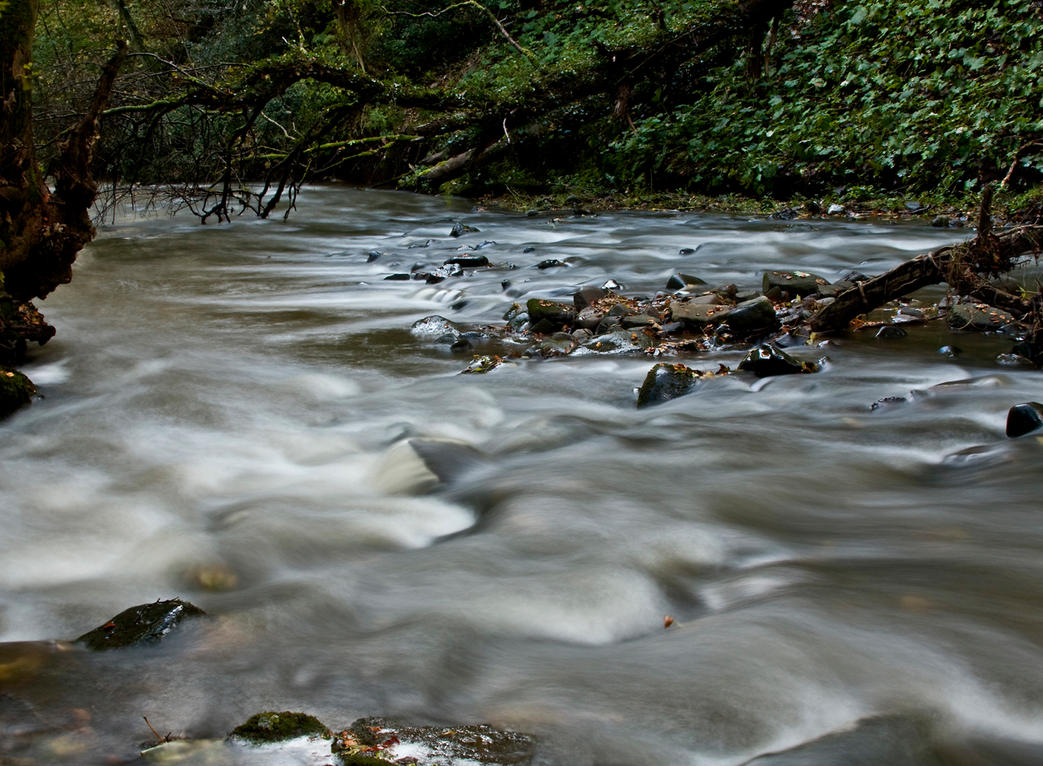Aberelliot Waterfall XII by DundeePhotographics