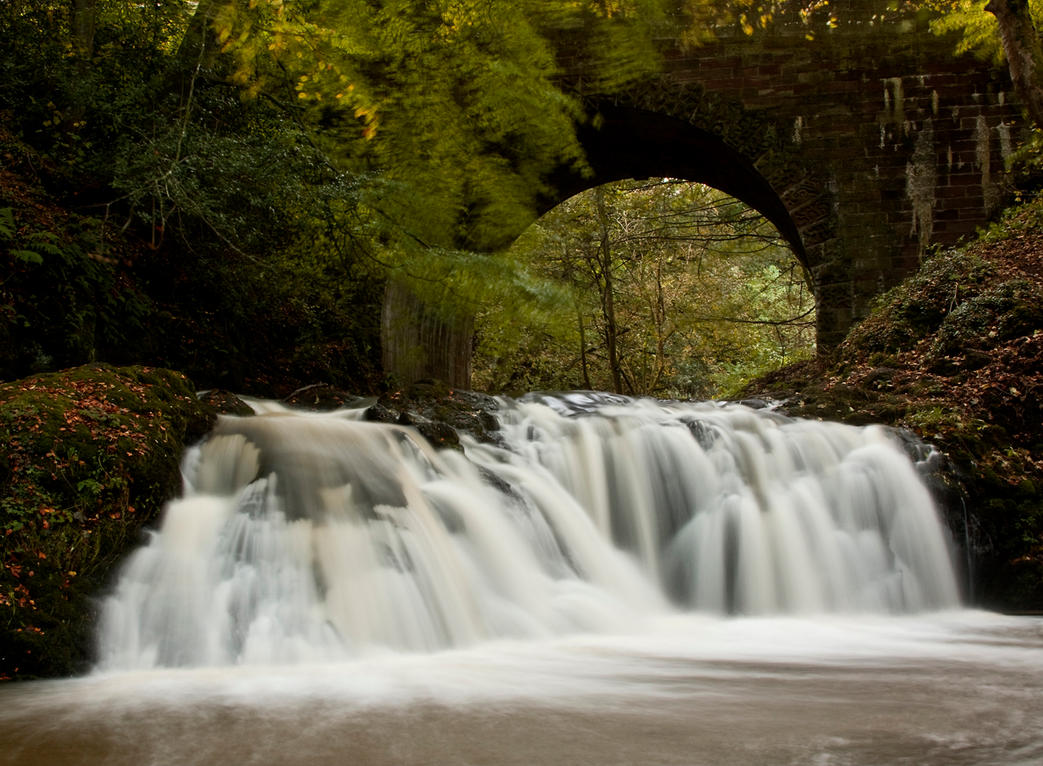 Aberelliot Waterfall XIV by DundeePhotographics