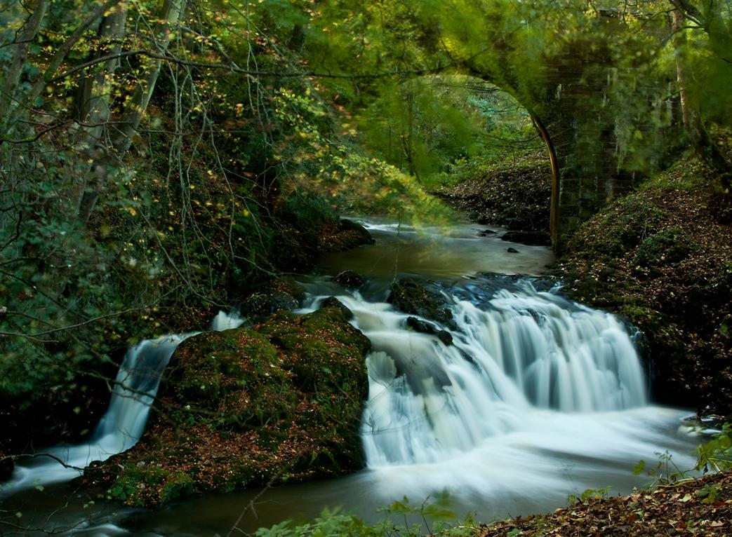Aberelliot Waterfall XV by DundeePhotographics