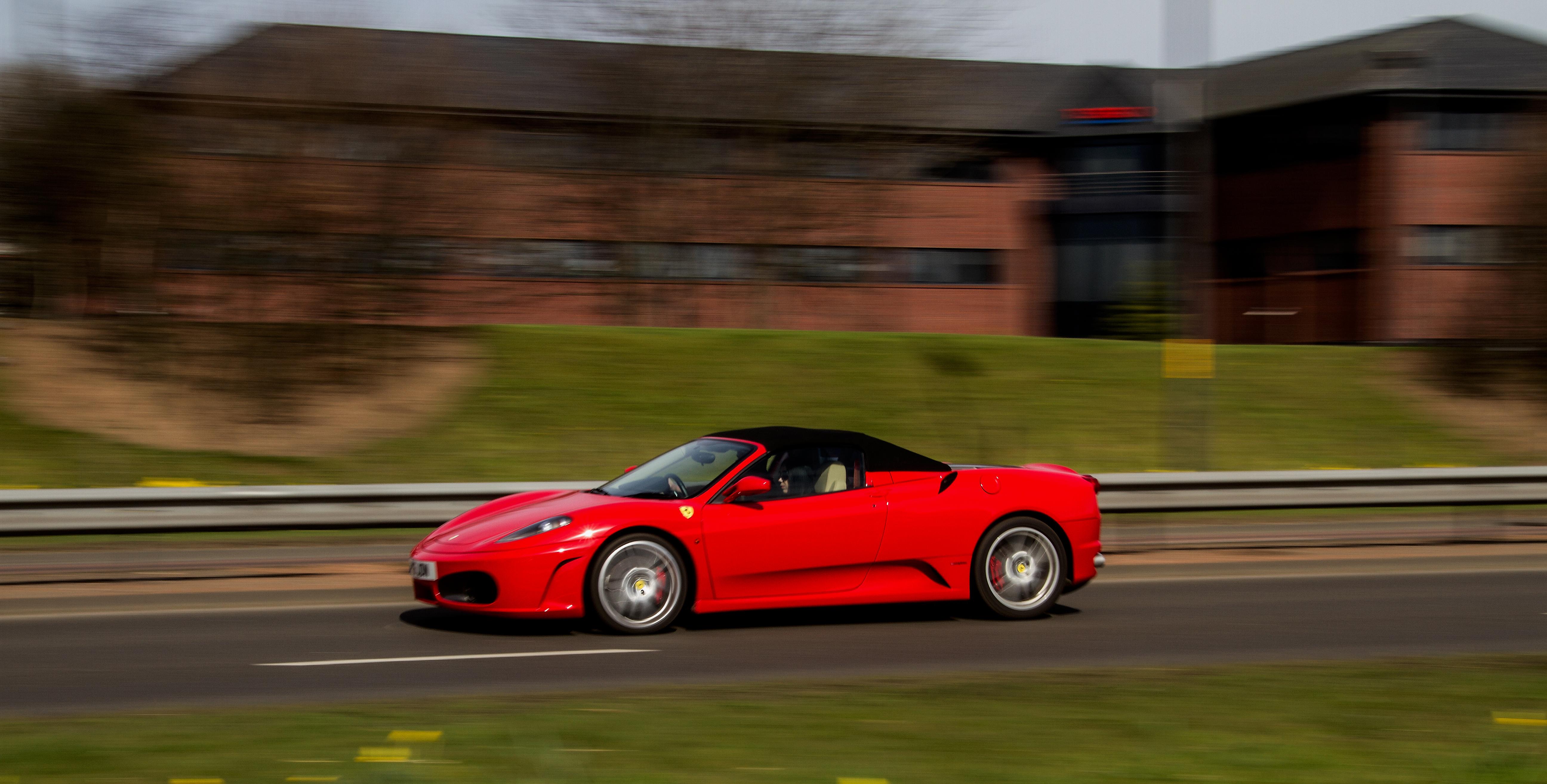 Ferrari Convertible by DundeePhotographics
