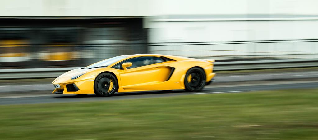 Lamborghini Aventador by DundeePhotographics