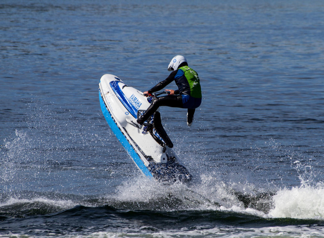 Tayjet Personal Watercraft Club Jet Skier IX by DundeePhotographics
