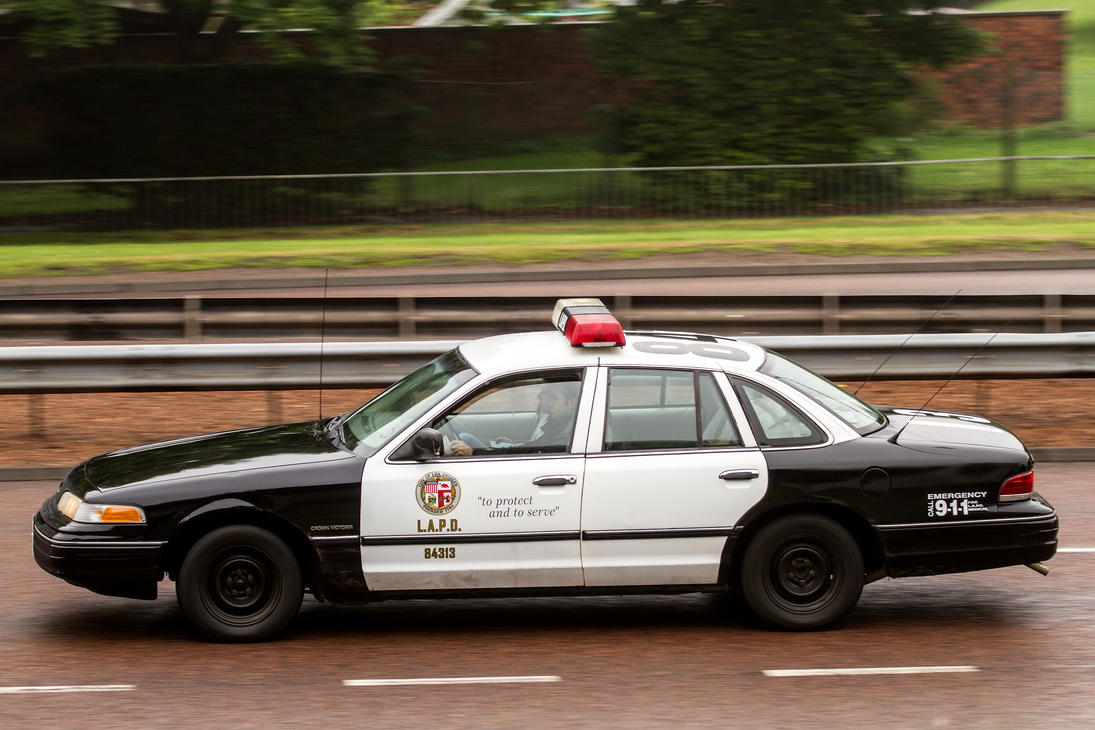 LAPD Cop Car by DundeePhotographics