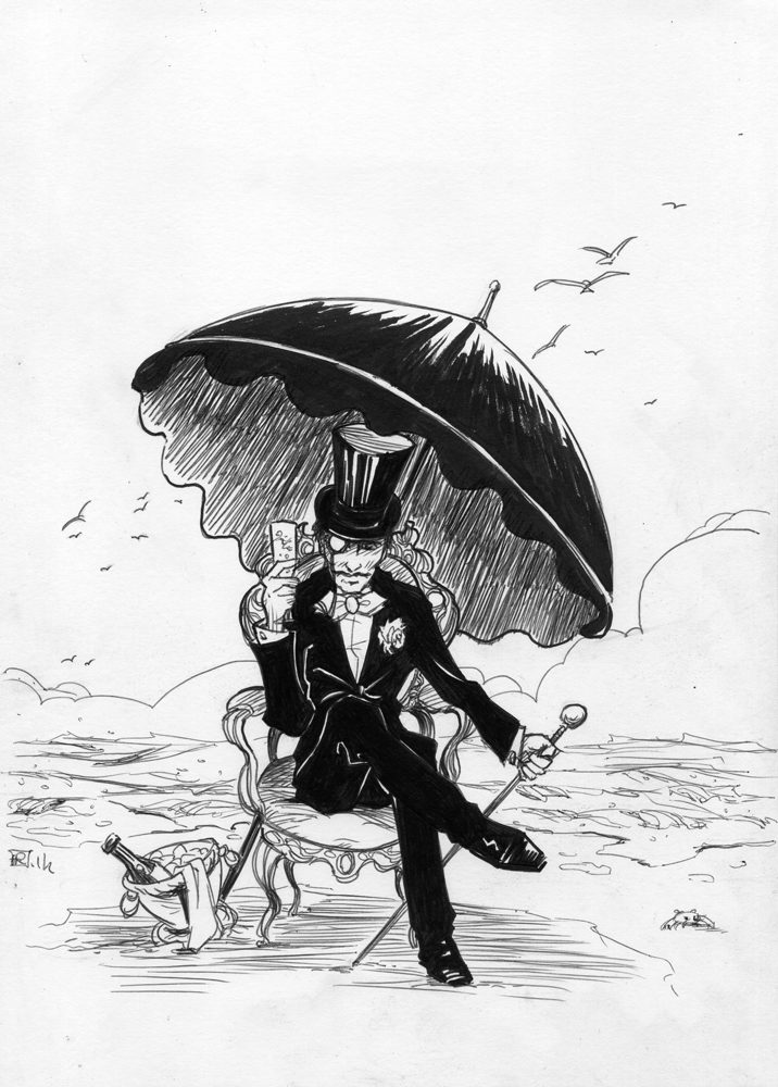Arsene Lupin by tirhum