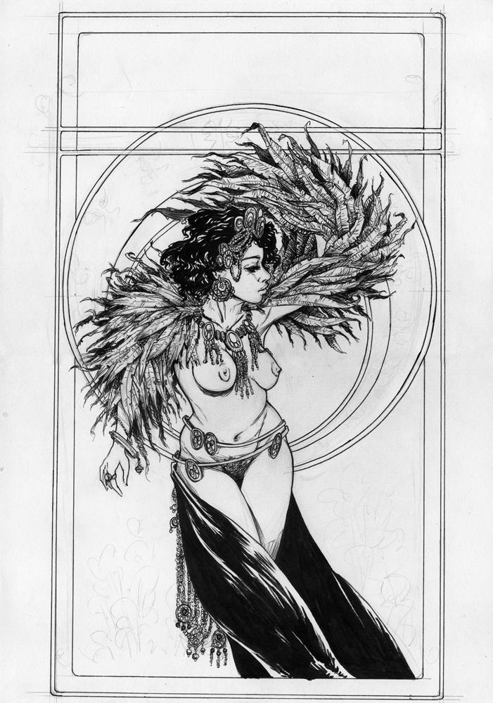 Burlesque wip2 by tirhum
