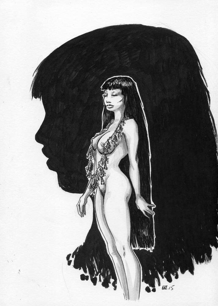 Queen of Saba. by tirhum