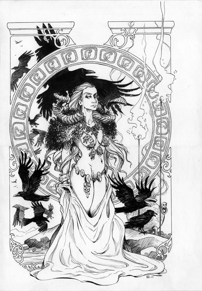 Priestess 2 by tirhum