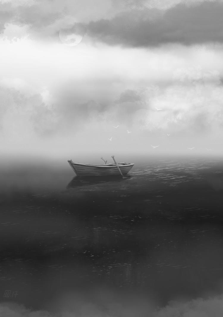 Reverie-fleuve009 by tirhum
