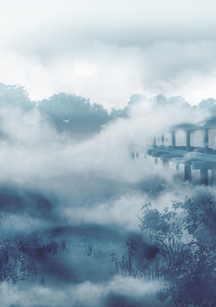 Couverture-fleuve by tirhum