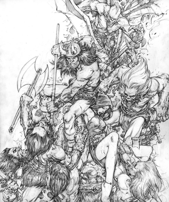 Conan by keucha