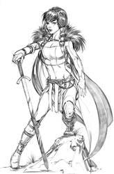 Sif (Thor) by keucha