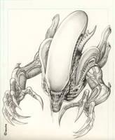 Alien by keucha