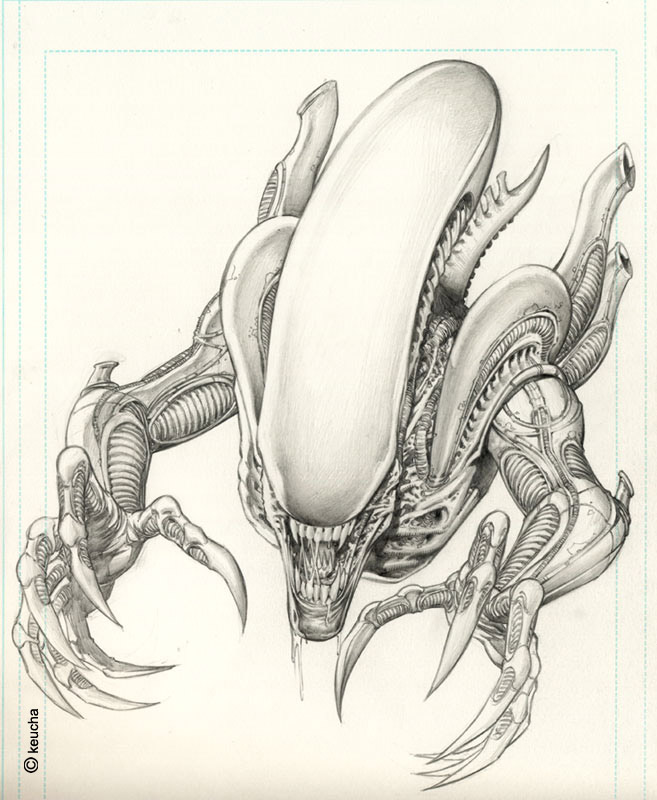 Alien by Keu Cha * | Dark & Cool | Pinterest