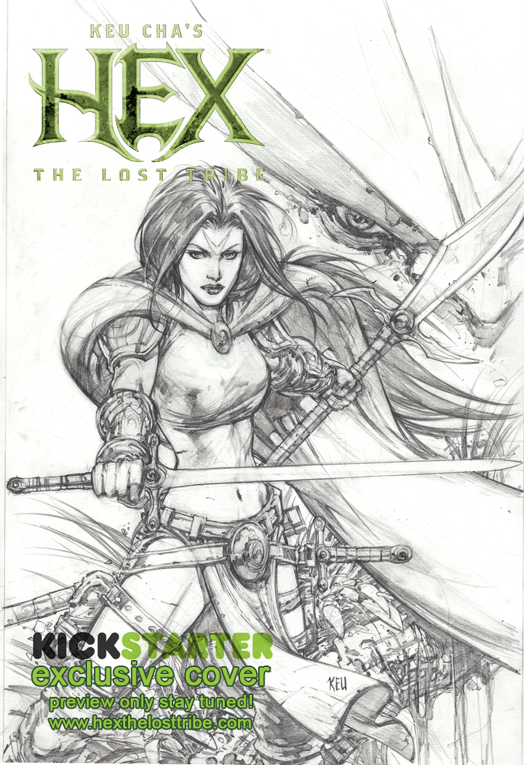 Kickstarter Exclusive cover by keucha