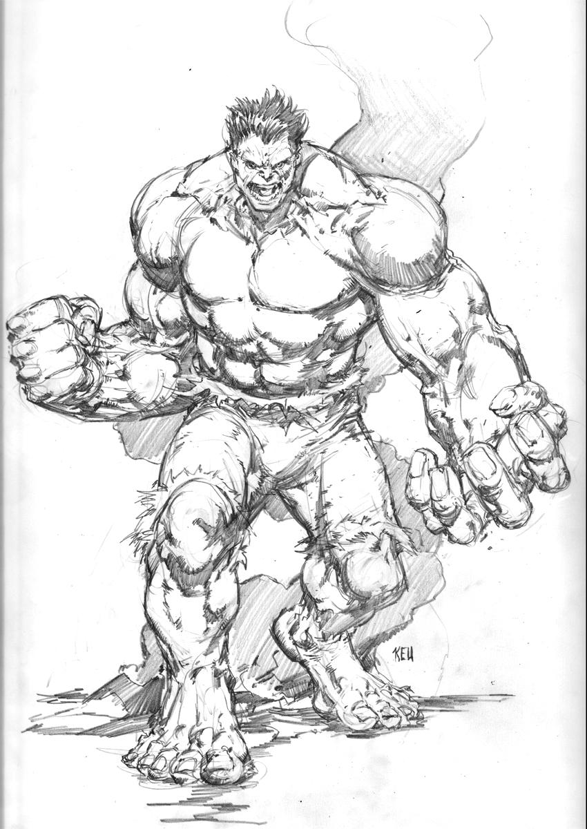 The Incredible Hulk by keucha