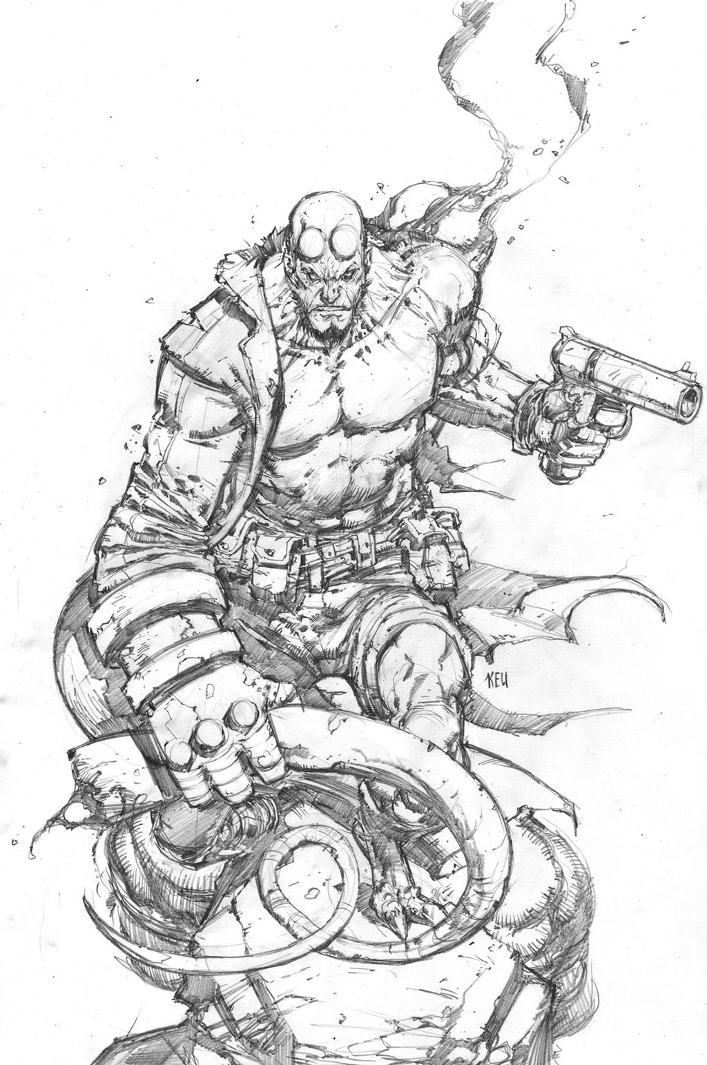 Hellboy01 copy by keucha