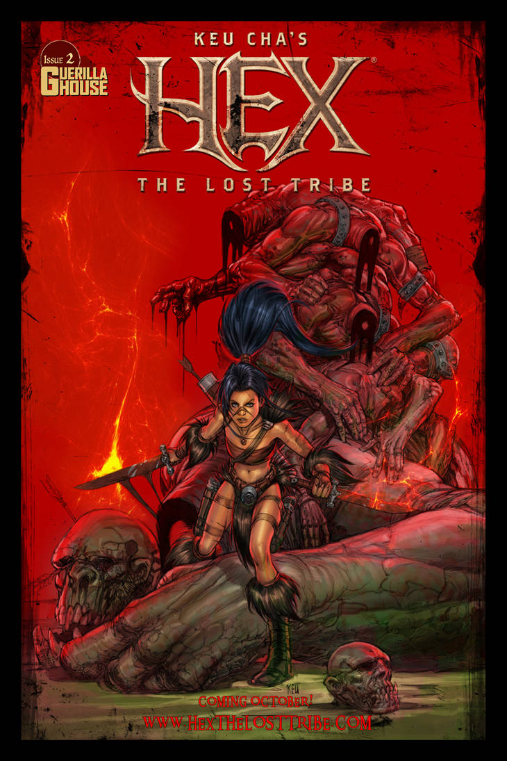 Hex the Lost Tribe issue #2 (cover)