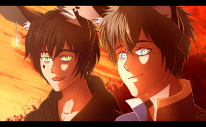The Foxhunter: Lost Boys + Speedpaint by nospectral