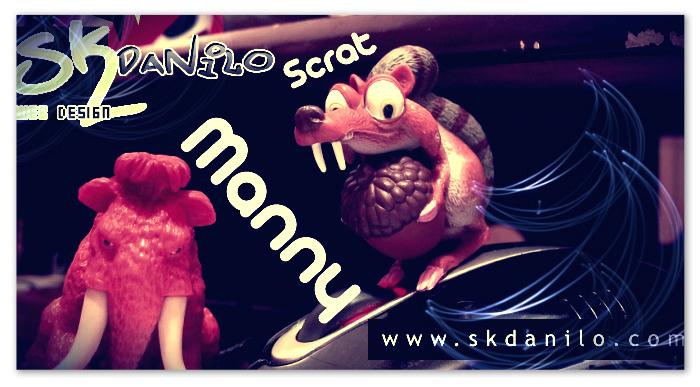fotografia  | Manny e Scrat - macro by skdanilo