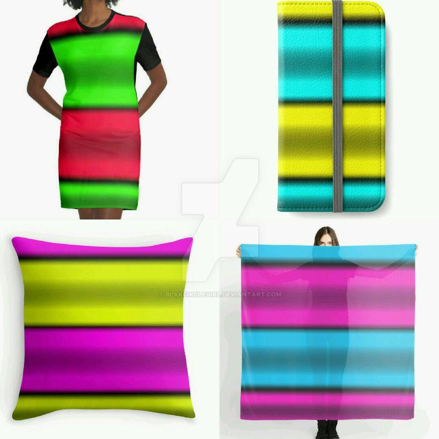 Second Four Horizontal Stripes  by blakcirclegirl