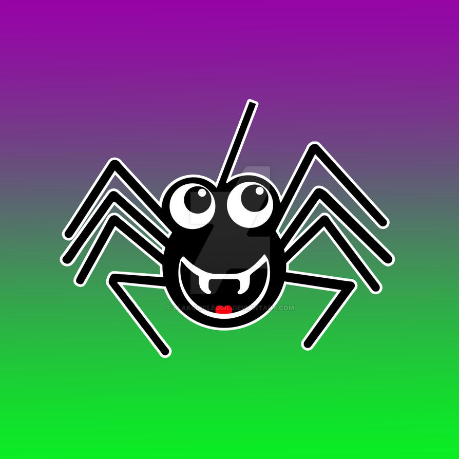 Smiling Spider by blakcirclegirl