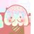 { Free Ice Cream Icon } Mr Rainbow Stache by xyriae