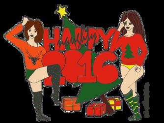 Happy -naughty- 2016! by mel--mel