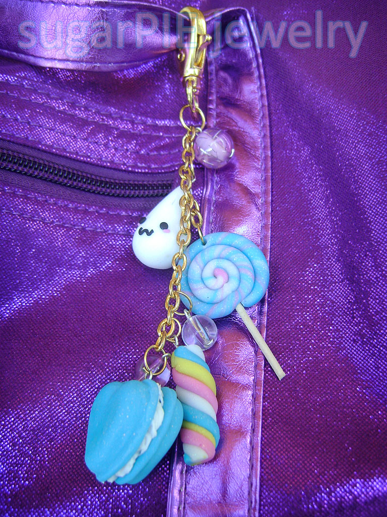 Sweet Keyring by OrdinaryThing