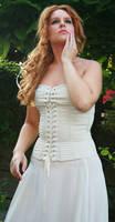 White dress 11 by MarjoleinART-Stock
