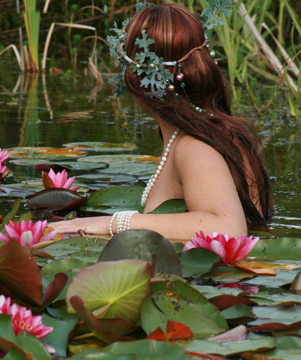 Water Lilies 62 by MarjoleinART-Stock