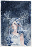 Spirit of the winter forest