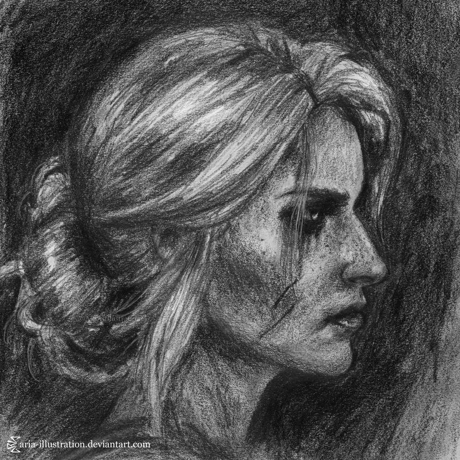 Ciri by ARiA-Illustration