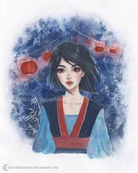 Mulan by ARiA-Illustration