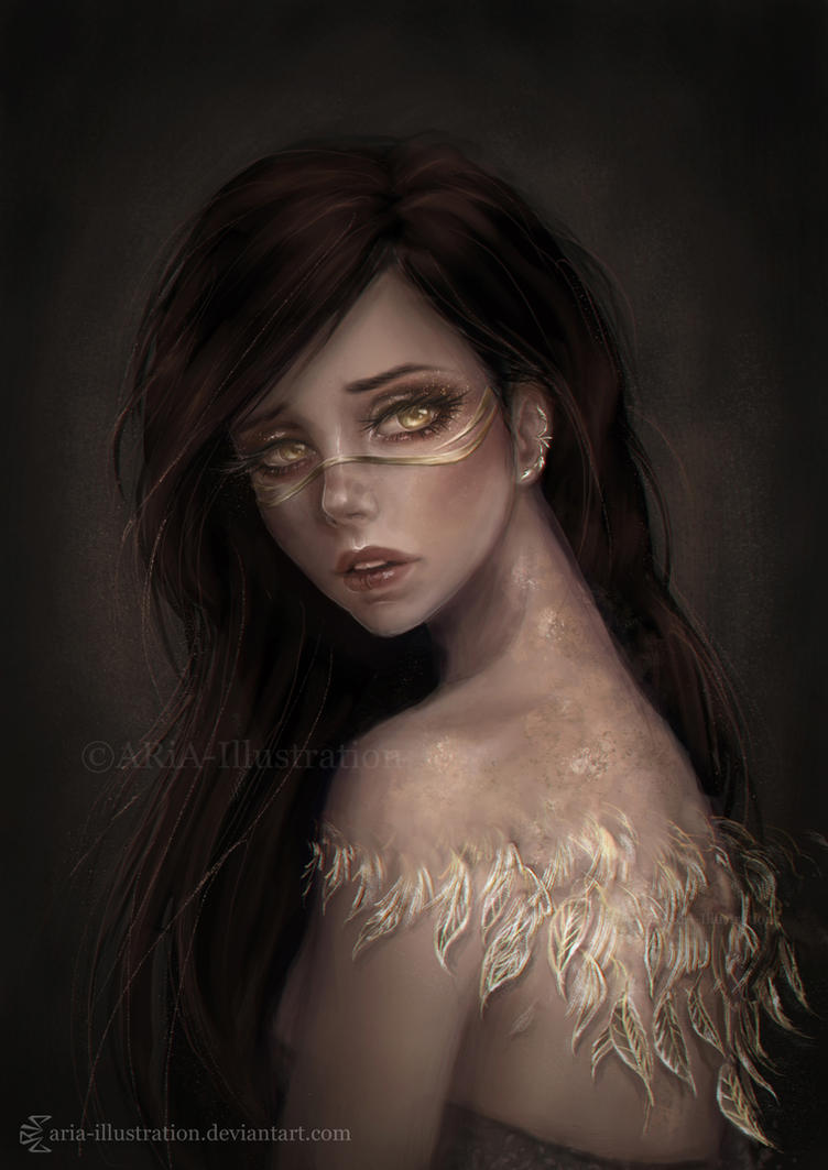 Beautiful misery by ARiA-Illustration