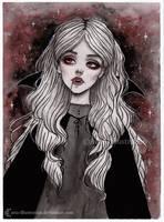 Day 30. Inktober 2017- Crimson Night by ARiA-Illustration