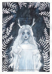 Lost spirit by ARiA-Illustration