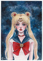 <b>Sailor Moon</b><br><i>ARiA-Illustration</i>