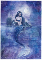 <b>Moonlight Mermaid</b><br><i>ARiA-Illustration</i>