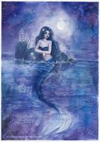 <b>Moonlight Mermaid</b><br><i>ARiA-Illustration</i>